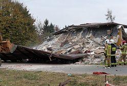 Kaczorów: dom runął po wybuchu. W środku była 81-latka