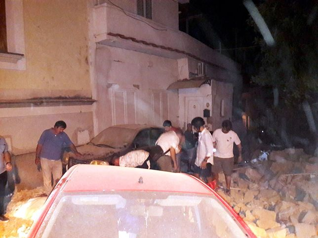 Na włoskiej wyspie zatrzęsła się ziemia. Dwie ofiary śmiertelne, są zaginieni i ranni