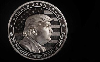 Inauguracja Trumpa. Rosyjska firma wybiła pamiątkową monetę
