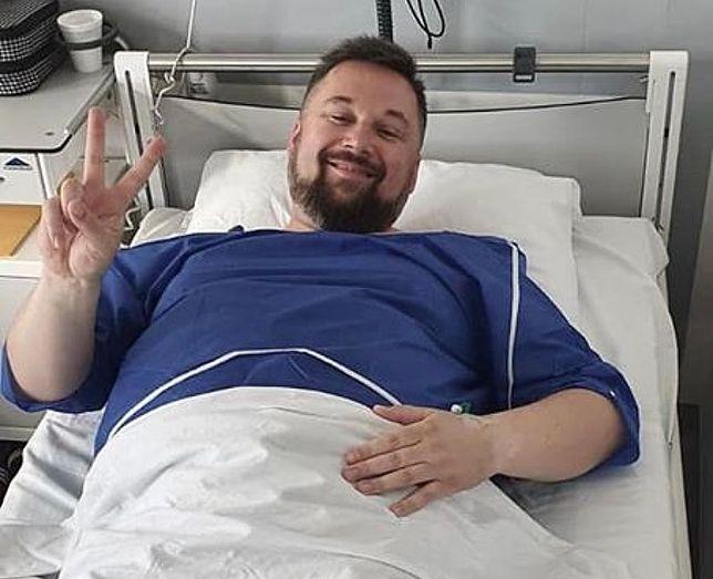 Poseł Marcin Kulasek walczy z otyłością