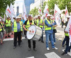 Strajk górników i energetyków w Warszawie. Uważaj na utrudnienia!