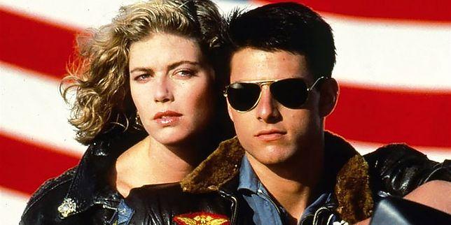 Kelly McGillis i Tom Cruise w kultowym filmie