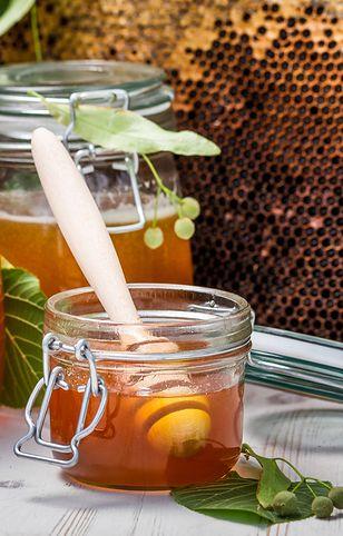 Naturalny miód z dodatkiem pyłków