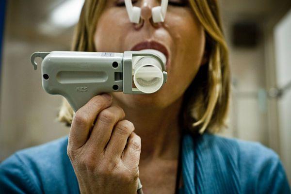 Badanie spirometryczne