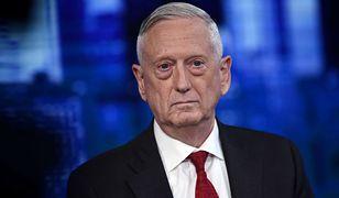 James Mattis. Były sekretarz obrony skrytykował Donalda Trumpa