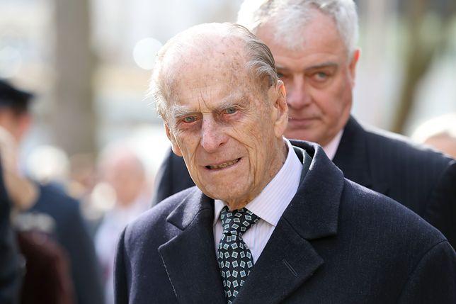 Książę Filip od jakiegoś czasu ograniczył swoje publiczne wystąpienia