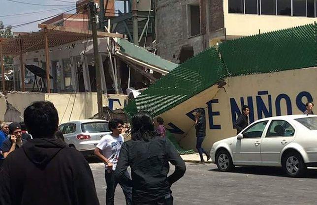 Tragedia w Meksyku po trzęsieniu ziemi. Nie żyje co najmniej 20 dzieci
