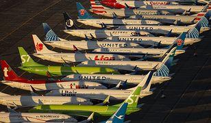 Samoloty Boeing 737 MAX zostały uziemione po drugiej katastrofie w 2019 roku