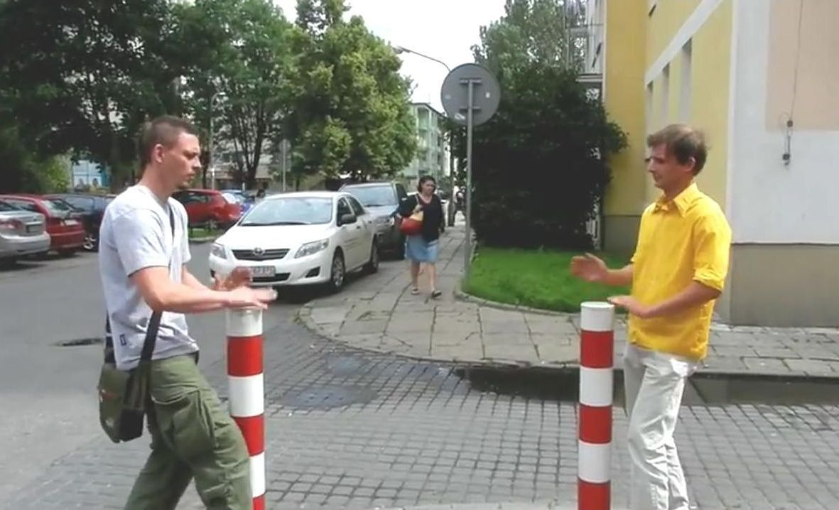 Warszawski humor! (wideo)