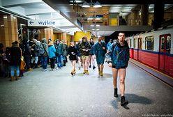 Pojadą metrem bez spodni. Chętnych przybywa!