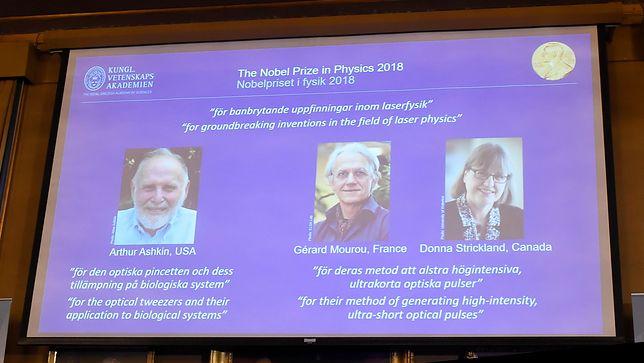 Nagroda Nobla z fizyki została przyznana za przełomowe odkrycia w fizyce laserów