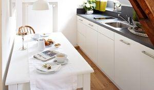 Wąska kuchnia: aranżacje, inspiracje, zdjęcia