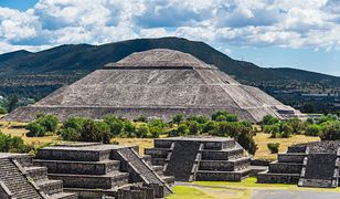 Na zdjęciu Teotihuacán