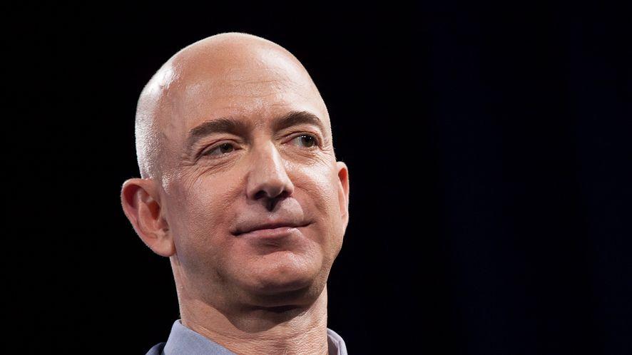 Jeff Bezos (fot. David Ryder / Stringer/Getty Images0