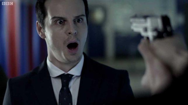 "Kadr z serialu BBC ""Sherlock"""