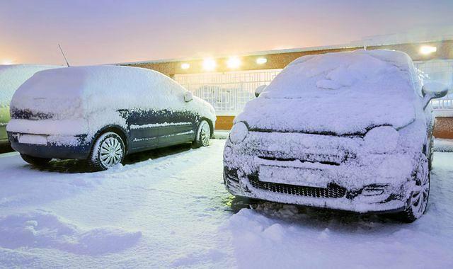 Chroń układ wydechowy przed śniegiem