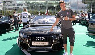 Robert Lewandowski i Audi RS6