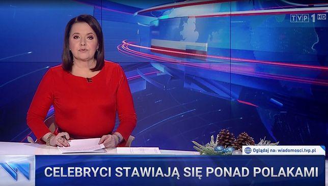 """""""Wiadomości"""" poruszyły temat szczepień celebrytów"""