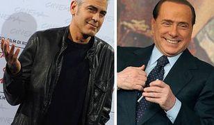 George Clooney świadkiem w sprawie Berlusconiego