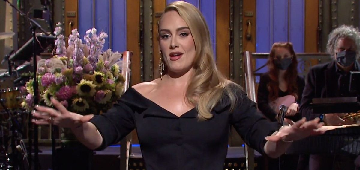 Adele wystąpiła w popularnym show. Wyglądała olśniewająco