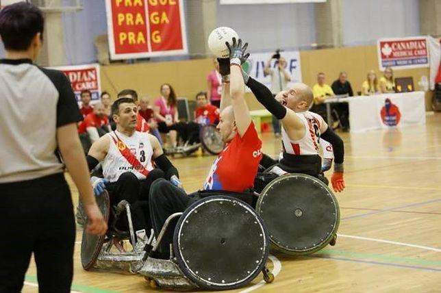 Wyjątkowe zawody rugby na wózkach w Arenie Ursynów