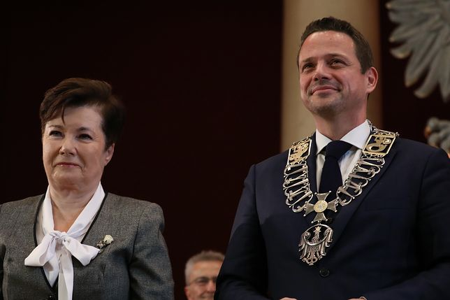 Hanna Gronkiewicz-Waltz i Rafał Trzaskowski