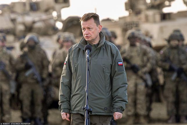 Mariusz Błaszczak o obecności dowództwa V. Korpusu (zdjęcie ilustracyjne)