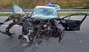 Śląskie. Tragiczny wypadek na A1. Nie żyje 27-letni kierowca