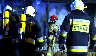 Tragiczny pożar w Orzeszu. Trzy osoby zginęły w pożarze domu