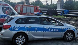 Śmiertelny wypadek w Brzozowcu. 10-tonowa rura spadła na pracownika zakładu