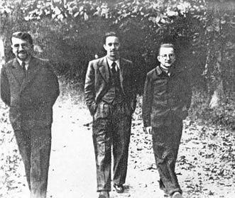 Od lewej - Zygalski, Różycki, Rejewski (źródło - Wikipedia)