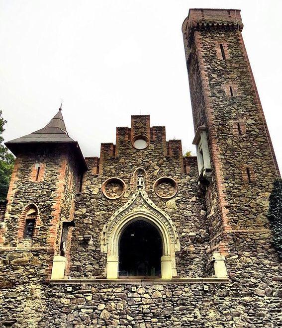 Rajsko - romantyczne ruiny na Dolnym Śląsku