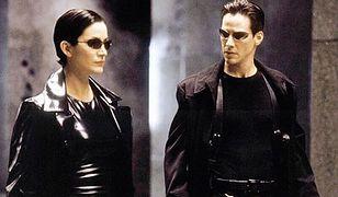 """Carrie-Anne Moss i Keanu Reeves w pierwszym """"Matriksie"""""""