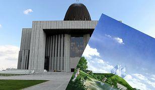 """Tak mogła wyglądać Świątynia Opatrzności Bożej. """"Zamiast bujnej zieleni, mamy wyciskarkę do cytryn"""""""