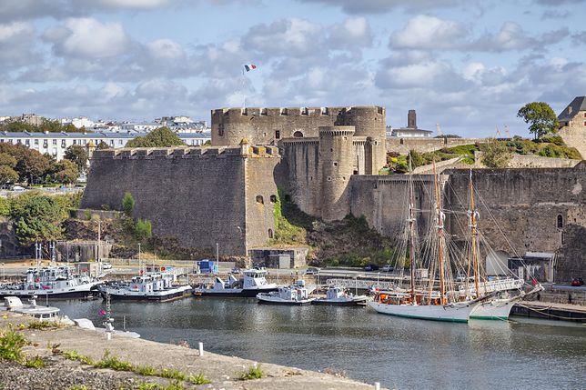 Do niecodziennej sytuacji doszło we francuskim mieście Brest