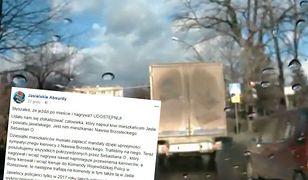 Policjanci potwierdzają, że mężczyzna przoduje w wysyłaniu materiałów wideo
