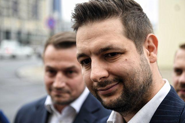 Patryk Jaki (na pierwszym planie)  i jego potencjalny zastępca - Piotr Guział.