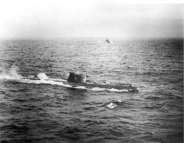 Podwodne okręty atomowe w czasie zimnej wojny - podwodne starcia tytanów