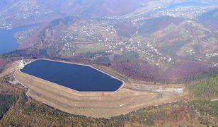 Jedyna w Polsce elektrownia podziemna. Jest wydrążona wewnątrz góry