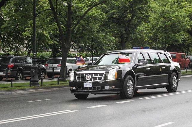 """""""Bestia"""" ponownie na warszawskich ulicach. Plan wizyty B. Obamy"""