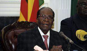 Prezydent Zimbabwe zrezygnował z urzędu