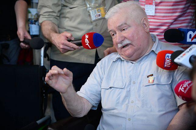 Wpis Lecha Wałęsy będzie weryfikować policja