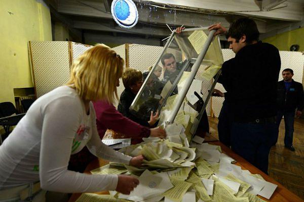 Ostateczne wyniki: prawie 97 proc. za przyłączeniem Krymu do Rosji