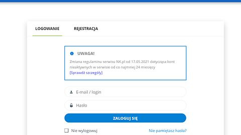NK.pl szykuje się do automatycznego usuwania nieaktywnych kont