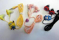 Niebezpieczne słuchawki z Minionkami i Hello Kitty zatrzymane przez celników z Poznania