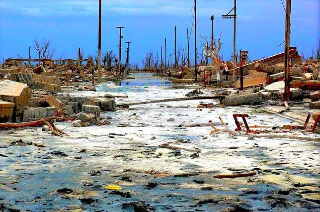 Epecuen, prowincja Buenos Aires, Argentyna