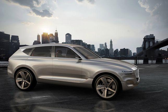 Genesis GV80 to koreańska odpowiedź na SUV-y BMW i Mercedesa