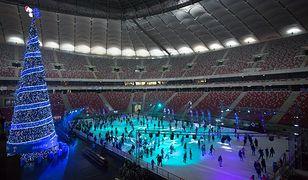Zima rekordowa na Stadionie Narodowym