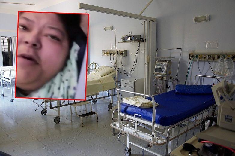 Brak słów! Przed śmiercią nagrała, co się działo w szpitalu