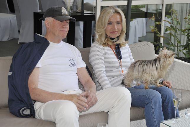 Krzysztof Baranowski i Bogumiła Wander pobrali się w 2005 roku